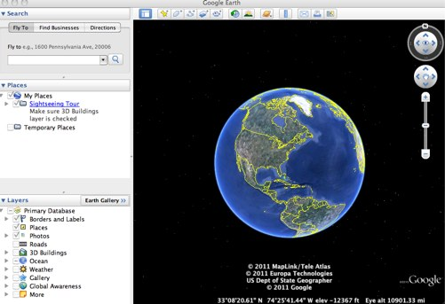 360 Degree World Map.Google Earth And Google Maps Global Partnership